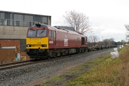 "60040 ""The Territorial Army Centenary"" passes Hadley"