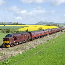 "Spitfire Railtours' ""The Cambrian Mountaineer"""