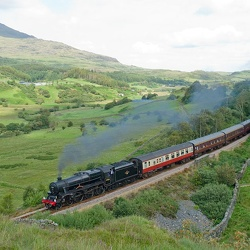 "Railway Touring Company's ""The Welsh Mountaineer"" - August 2009"