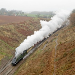 Whiteball and West Somerset Railway spring steam gala