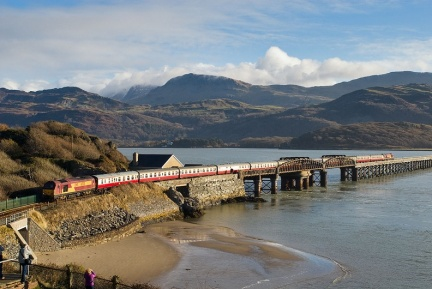 67021, Barmouth bridge