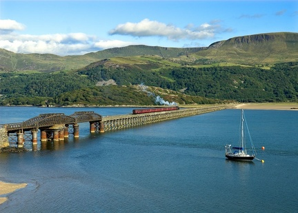 76079, Barmouth bridge