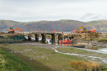 Clettwr bridge refurbishment
