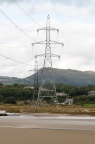 The second listing pylon of Penrhyndeudraeth.