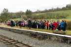Pupils from Ysgol O.M. Edwards witnessing history at Llanuwchllyn