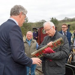 "Penrhyn Quarry's ""Winifred"" 130th birthday and first passenger train"