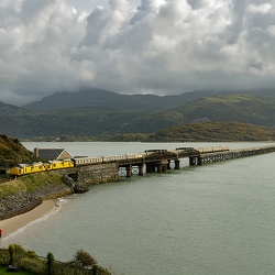 Barmouth Bridge 150th anniversary, October 2017