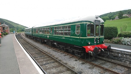 Wickham Class 109 DMU DMBC 50416 at Carrog