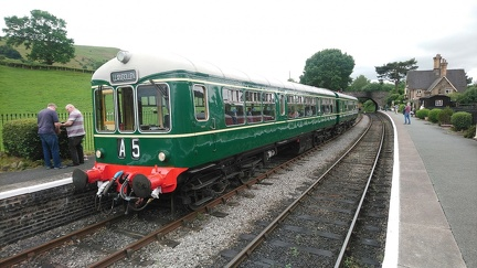 Wickham Class 109 DMU DTCL 56171 at Carrog