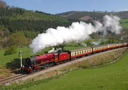 LMS Royal Scot Class no. 6100 'Royal Scot'