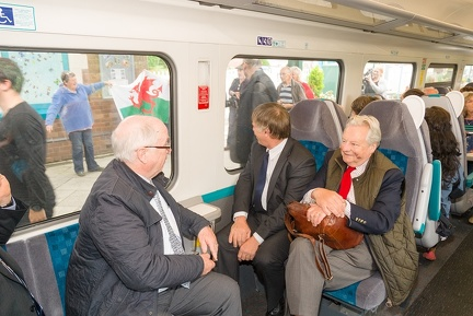 Lord Dafydd Elis Thomas AM on 158825 at Criccieth