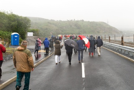Pont Briwet official opening